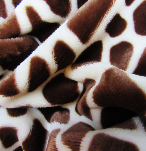 Baby Giraffe-Jarfette Cozy Jacket Scarf-Soft and Plush Polyester Fabric
